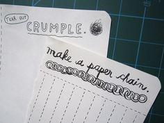 """""""Make a paper chain."""""""
