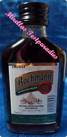Bachmann Kräuterlikör aus der Degustabox November 2015.