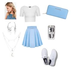Something Blue by gracie-sophia on Polyvore featuring polyvore, fashion, style, Topshop, WithChic, Keds, MICHAEL Michael Kors, Bling Jewelry, Charlotte Russe, Urban Outfitters, Chiara Ferragni and clothing