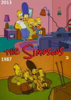 The Simpsons. A constant source of joy for years. The Simpsons Show, Simpsons Funny, Simpsons Art, Starco, Los Simsons, American Dad, First Tv, Futurama, Cool Cartoons