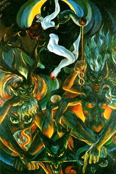 Lucifer, Satan & other Devils: The Occult art of Rosaleen Norton, the Witch of Kings Cross Rosaleen Norton, Satanic Art, Esoteric Art, Demon Art, Occult Art, Visionary Art, Surreal Art, Black Magic, Magick