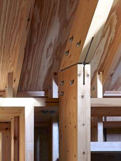 Long Sutton Studio / Cassion Castle Architects. Timber details.:
