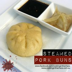 Steamed Pork Buns - Thermomix Recipe