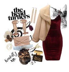 """Night out"" by medina-unique ❤ liked on Polyvore featuring Benzara, Glamorous, Christian Dior, Gianvito Rossi, Dorothy Perkins, Charlotte Chesnais, Dolce&Gabbana, Urban Decay, Ron Hami and xO Design"