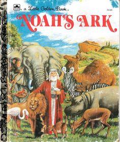 Little Golden Book Noah's Ark.