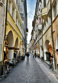 Bolzano, Day 5 of the Rick Steves Best of Italy in 17 Days Tour