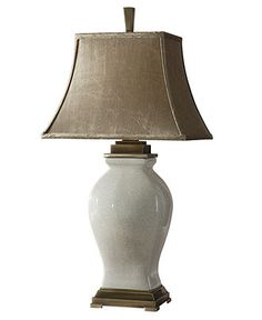Uttermost Table Lamp, Rory Ivory - Traditional Lighting - for the home - Macy's
