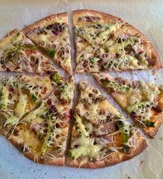 Taas kerran pizzaa ruoan tähteistä tällä kertaa oikea gurmeepizza ankkapizza. #uusiokäyttö #ruoantähteet #pizza #juusto #kotiruoka #gurmee #gourmet #ankka #itsetehty