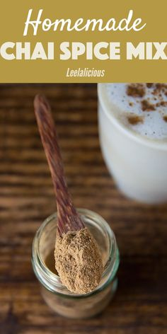 If you love chai lattes, you need to whip up this homemade Masala Chai Spice mix! With this seasoning mix on hand, you can easily give your baked treats a delicious chai flavor or quickly make your beloved chai latte at home. Homemade Spices, Homemade Seasonings, Homemade Recipe, Homemade Tea, Smoothies, Masala Chai, Spice Mixes, All Spice, Chai Spices Recipe