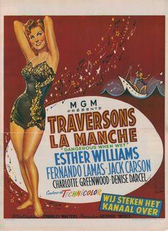 Una Pagina de Cine 1953 Dangerous when wet (bel) 01.jpg