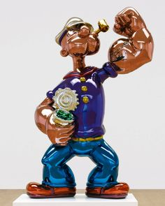 WOW! Jeff Koons's Popeye to debut at Sotherby's is expected to sell for $25 Million USD. We'll jsut have to settle for spinach and olive oil.   #OMagazineSA