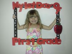 First Day of School Picture Frame!