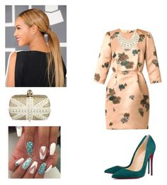 """Church!!!"" by cogic-fashion ❤ liked on Polyvore featuring N°21, Christian Louboutin, Forever New and Alexander McQueen"