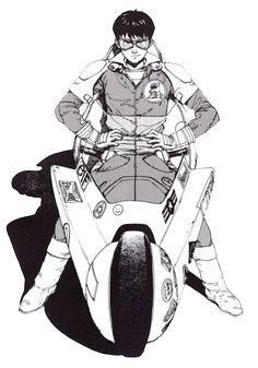 lospaziobianco: Akira by Katsuhiro Otomo
