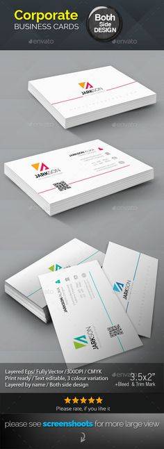 Jarkson Corporate Business Cards Jarkson Corporate Business Cards for multipurpose Business use. print dimension, with Ble - Graphic Templates Search Engine Teacher Business Cards, Cool Business Cards, Corporate Business, Business Card Design, Event Flyer Templates, Brochure Template, Card Templates, Visiting Card Design, Name Cards