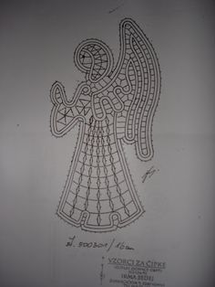 gracias a las que me mandais patrones, - marianeus - Picasa Albums Web Christmas Angels, Christmas Ornaments, Types Of Lace, Bobbin Lace Patterns, Lacemaking, Point Lace, Diy And Crafts, Projects To Try, Crochet