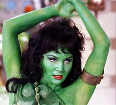 Susan Oliver as Vina the Orion slave girl in Star Trek : The Cage, 1965