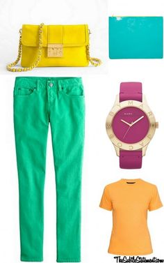 Candy Coated #brights TheSubtleStatement.com
