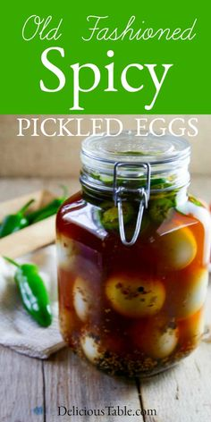 Fun Easy Recipes, Egg Recipes, Appetizer Recipes, Spicy Appetizers, Recipies, Easy Meals, Spicy Pickles, Homemade Pickles, Protein Packed Snacks