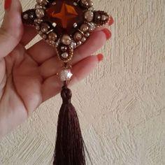 БРОШИ РУЧНОЙ РАБОТЫ (@nadya_art_handmade) в Instagram: «Брошь коньячного цвета🔸🔸🔸 Cognac color brooch 😊😊😊 #nadyaarthandmade#handmadealmaty…»