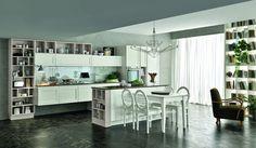 Stosa Maxim. Simple & Chic. http://www.stosacucine.com/catalog/3-cucine-componibili/12-maxim