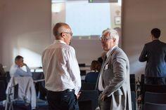 Il relatore Piet Swartelé (Zoetis) con Claudio Vettor (WinWin Consulting)