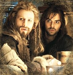 Fili and kili- kili looks so worried :3