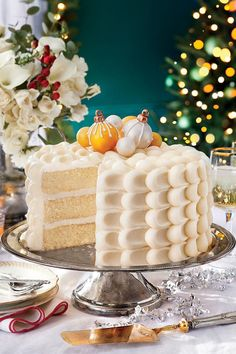 December- Snowy Vanilla Cake with Cream Cheese Buttercream | Save room on the sideboard for one of these reader favorite treats. In every issue of Southern Living magazine, our readers can find delicious recipes to prepare for their family and friends. Whether you're a novice cook that likes quick and easy recipes, or an experienced baker with an adventurous streak, you are sure to find a recipe to test your skills and tempt your taste buds. You can find fresh ideas for your farmers' market