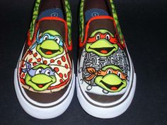 TV And Movie Characters Hand-Painted On Sneakers | MAKE: Craft
