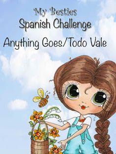 My Bestie Spanish Challenge Blog: Recordatorio ENERO Reto#19 / Vale todo - My Bestie...