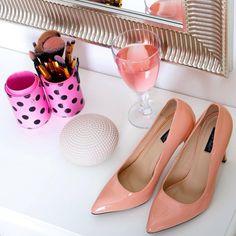 Růžové lodičky Pastelky. 💗 #poshme #poshmecz #jsemposh #hightheels #fashion #shoes