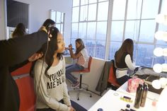 Behind the scenes! What Makes You Beautiful, The Girl Who, Be Yourself Quotes, Behind The Scenes, Model, Scale Model, Models, Template