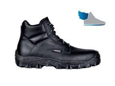 Čierna, členková obuv  NEW BAFFIN S3 SRC  z nepremokavej kože (robotnícka bagandža)
