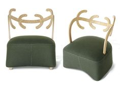 Antler Chair by Nendo for Cappellini.