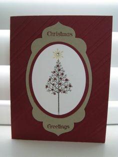 Stampin Up Warmth Wonder Christmas Card