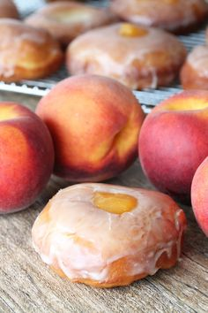I have a passionate love affair with peaches this summer. I've been eating them on an almost daily basis and loving ever minute of it. When I stumbled upon a peach pie donut at a popular donut shop I absolutely had to have a taste. I was disappointed by the actual donut (hardly any filling!) but knew I'd...
