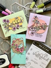 Stampin' Up! free as a bird, bird ballad suite Handmade Greetings, Greeting Cards Handmade, Zealand Tattoo, Bee Cards, Wink Of Stella, Bird Free, Stampin Up Catalog, Friendship Cards, Stamping Up Cards