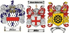 Miller Coat of Arms / Miller Family Crest