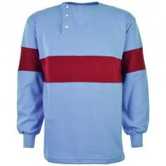 Shop our range of Thames Ironworks retro football shirts, including one of their first shirt designs from 1902 and home and away shirts from Alongside our own casual wear collection of t-shirts, track tops and hoodies, using the famous hammers crest. West Ham United Fc, Classic Football Shirts, Embroidered Badges, Premier League, Shirt Designs, Long Sleeve, Mens Tops, T Shirt, Tee Shirt