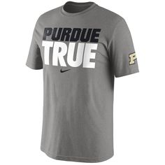 Purdue Nike Basketball Purdue True T-Shirt 201afe94a