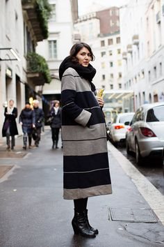 aces on the topper girl. Milan. #TheSartorialist
