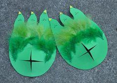 Dino (or Monster) Feet