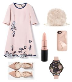 """Pink time"" by marutza28 ❤ liked on Polyvore featuring Sole Society, MAC Cosmetics, Rebecca Minkoff and Olivia Burton"