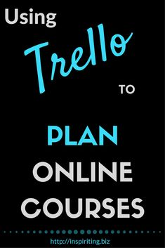 Using Trello to organize & manage your online courses | See a sneak peek how I use workflow automations in Trello to remain my sanity whilst I create online courses. With a basic guideline and a tool called Butler for Trello, you can easily set up workflows yourself. #TrelloWorkflows #TrelloAutomation #OnlineCourse #CourseDevelopment #Trello #OnlineBiz #BestPractices