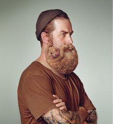 Alors qu'aux Etats-Unis, il est aujourd'hui possible de se faire faire une greffe de barbe, la marqueSchick NZ préfère mettre en scène de belles barbes fournies et constituées par des… rongeurs !