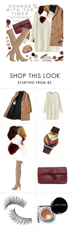"""""""Change with Times"""" by federica-m ❤ liked on Polyvore featuring Marni, Chanel, Stuart Weitzman, LULUS, Lumière, Trish McEvoy, Bobbi Brown Cosmetics, Terre Mère and Dolce&Gabbana"""