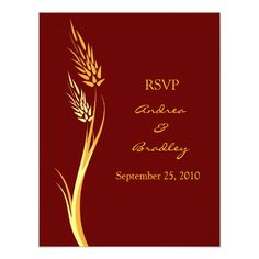 ShoppingCustomizable Autumn Wedding Response Card Invitetoday price drop and special promotion. Get The best buy