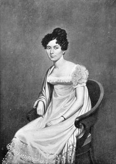Lady Smith, nee Juana Maria de Los Dolores de León . In the aftermath of the storming of Badajoz in April 1812, aged 14 , she married married  Brigade-Major Harry Smith, an officer with the 95th Rifles. The town of Ladysmith (famous for it's relief in the Boer War), is named after her.