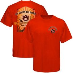 Auburn Tigers All Auburn All Orange T-Shirt - Orange @Fanatics #FanaticsWishList
