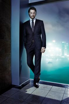 Gabriel Aubry para Hugo Boss Selection. I'm thinking Flynn for his book in the Catching Her Fall series!